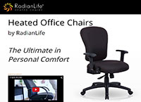 Radian Life Heated Office Chairs